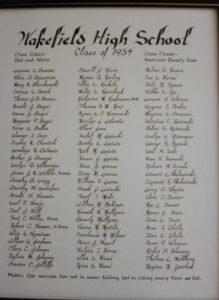 Wakefield Graduating Class of 1934