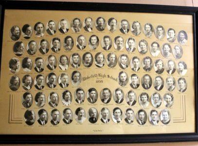 Wakefield Graduating Class of 1935