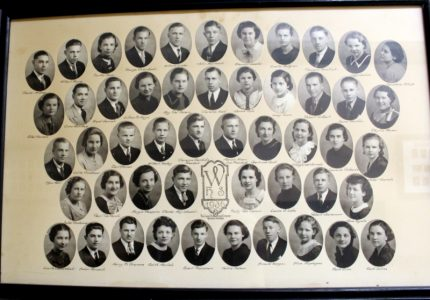 Wakefield Graduating Class of 1936