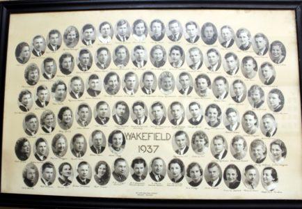 Wakefield Graduating Class of 1937