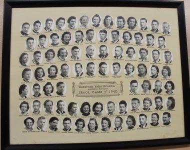 Wakefield Graduating Class of 1940