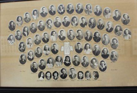 Wakefield Graduating Class of 1945