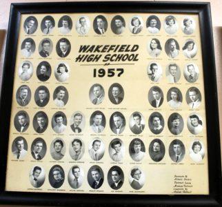 Wakefield Graduating Class of 1957