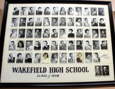 Wakefield Graduating Class of 1958
