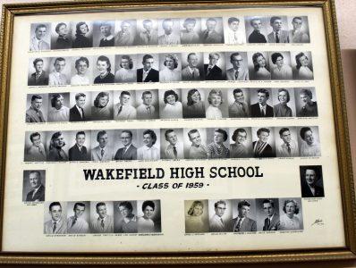 Wakefield Graduating Class of 1959