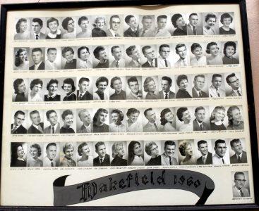 Wakefield Graduating Class of 1960