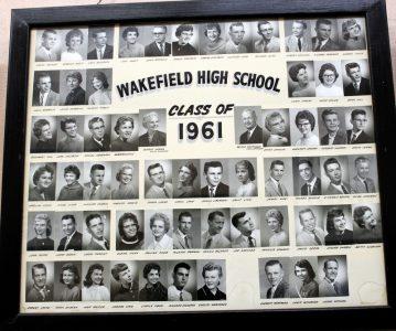 Wakefield Graduating Class of 1961