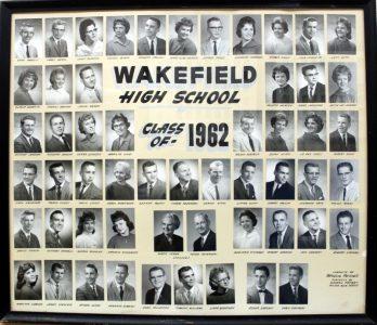 Wakefield Graduating Class of 1962