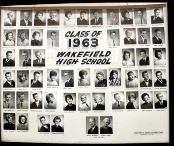 Wakefield Graduating Class of 1963