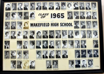 Wakefield Graduating Class of 1965