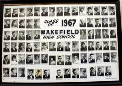 Wakefield Graduating Class of 1967