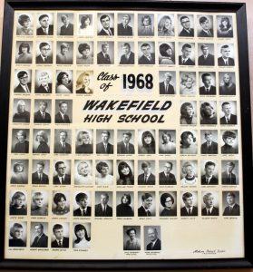 Wakefield Graduating Class of 1968