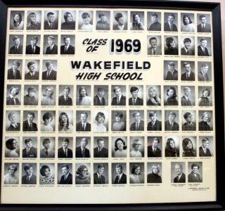 Wakefield Graduating Class of 1969