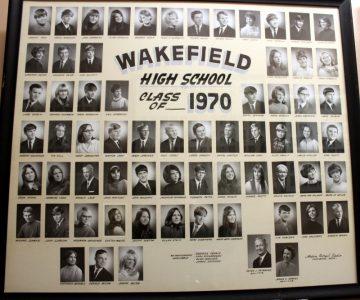 Wakefield Graduating Class of 1970