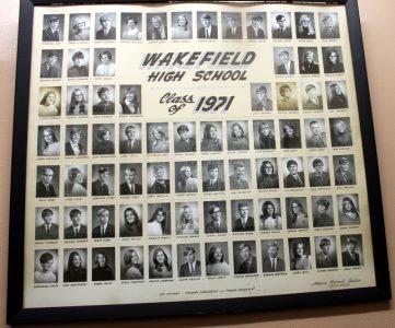 Wakefield Graduating Class of 1971