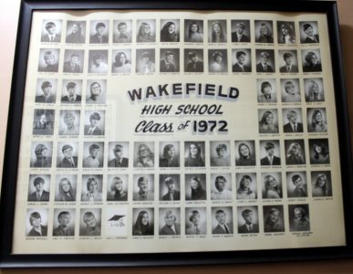 Wakefield Graduating Class of 1972