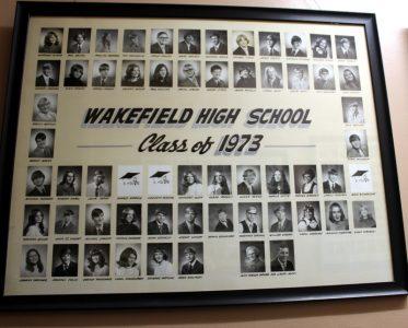 Wakefield Graduating Class of 1973