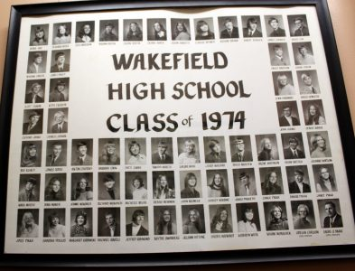 Wakefield Graduating Class of 1974
