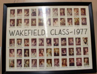 Wakefield Graduating Class of 1977