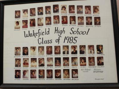 Wakefield Graduating Class of 1985