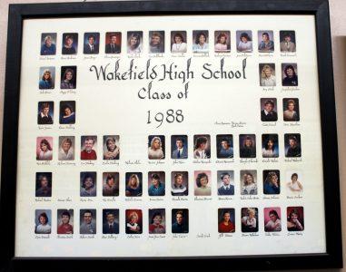 Wakefield Graduating Class of 1988