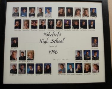 Wakefield Graduating Class of 1996