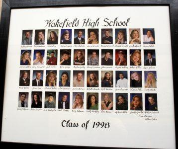 Wakefield Graduating Class of 1998