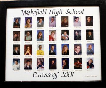 Wakefield Graduating Class of 2001