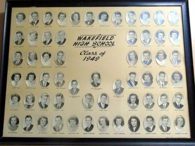 Wakefield Graduating Class of 1949