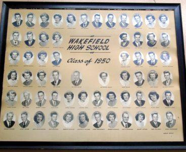 Wakefield Graduating Class of 1950