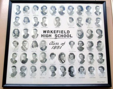 Wakefield Graduating Class of 1951