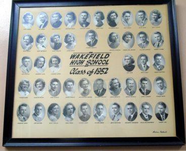 Wakefield Graduating Class of 1952