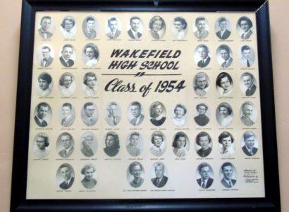 Wakefield Graduating Class of 1954