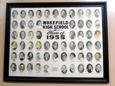 Wakefield Graduating Class of 1955