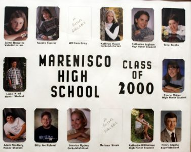 Marenisco Graduating Class of 2000