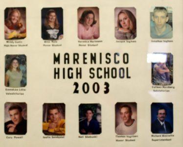 Marenisco Graduating Class of 2003