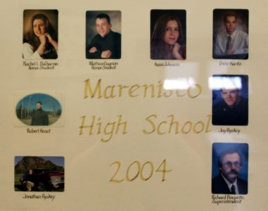 Marenisco Graduating Class of 2004