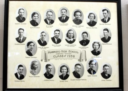 Marenisco Graduating Class of 19538