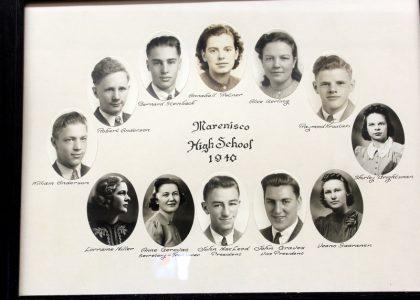 Marenisco Graduating Class of 1940