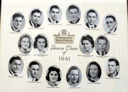 Marenisco Graduating Class of 1941