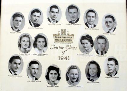 Marenisco Graduating Class of 1941