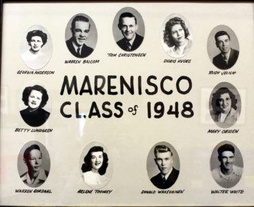Marenisco Graduating Class of 1948