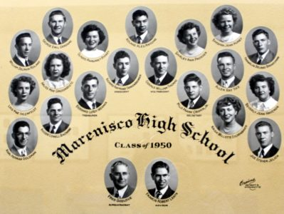 Marenisco Graduating Class of 1950