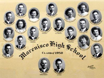 Marenisco Graduating Class of 1950