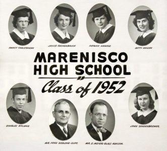 Marenisco Graduating Class of 1952