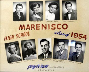 Marenisco Graduating Class of 1954