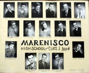 Marenisco Graduating Class of 1956