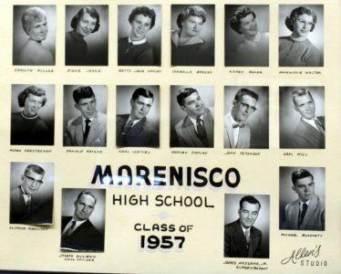 Marenisco Graduating Class of 1957