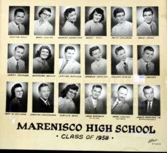 Marenisco Graduating Class of 1958