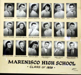 Marenisco Graduating Class of 1958